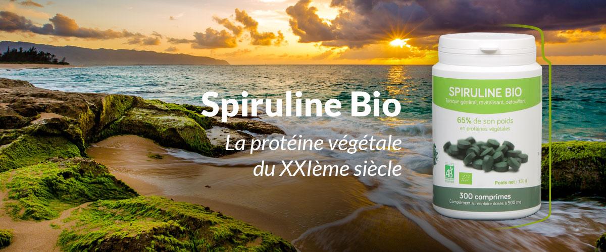 Spirulines bio AB ecocert