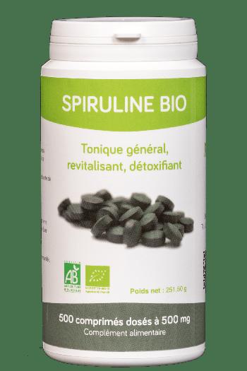 spiruline Bio Américaine 500 comprimés de 300mg